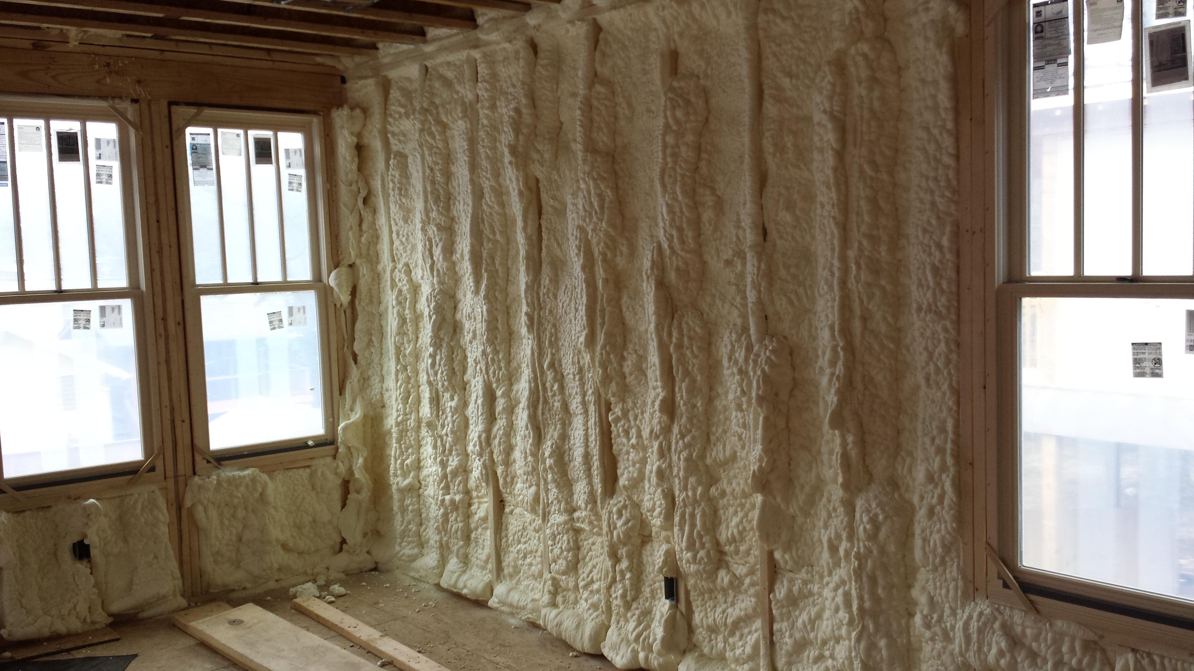 Spray Foam Rental Project Tennessee