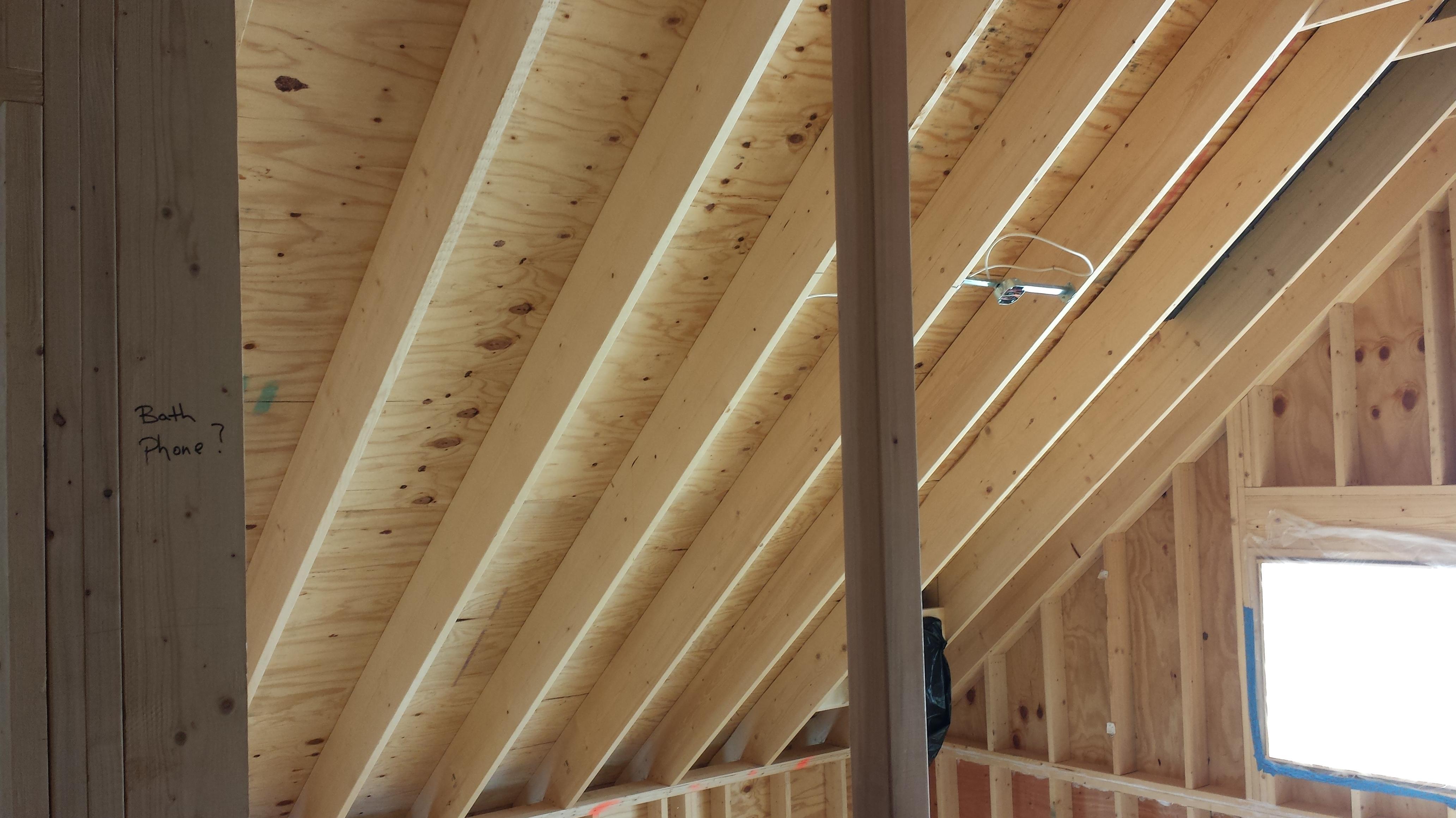 Roof Deck - Spray Foam Rental