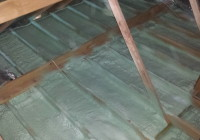 Attic air Sealing - Spray Foam Rental