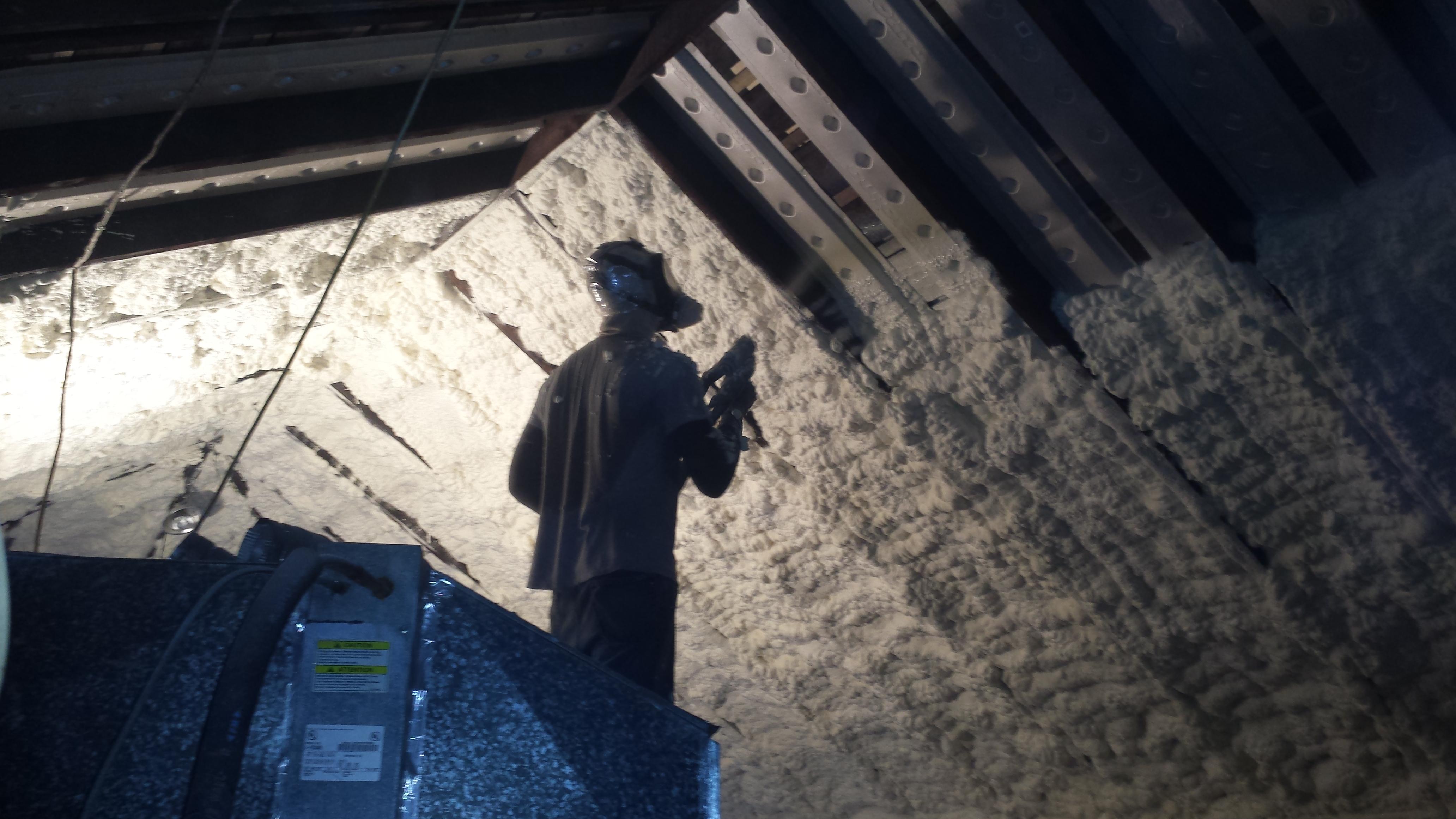Spray Foam Insulation Rental New Orleans Louisiana